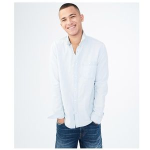 • MENS AEROPOSTALE BUTTON UP SHIRT •